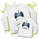 Camiseta PAPA PLAYER ONE + CAMISETA PLAYER TWO WL