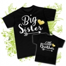 Camisetas BIG SISTER & LITTLE BROTHER BC