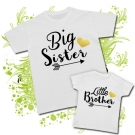 Camisetas BIG SISTER & LITTLE BROTHER WC