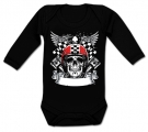 Body bebé CALAVERA BIKER RACING BL