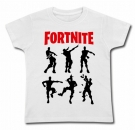 Camiseta BAILES FORTNITE