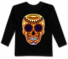 Camiseta CALAVERA MEXICANA OLD BL