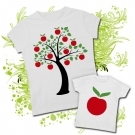 Camiseta MAMA APPLE TREE + Camiseta APPLE