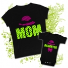 Camiseta MAMÁ MOM + Camiseta SON
