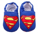 Pantuflas bebé SUPERMAN