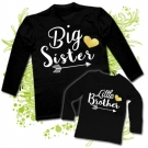 Camisetas BIG SISTER & LITTLE BROTHER