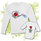 Camiseta MAMA REGADERA LOVE + Body PLANTA LOVE