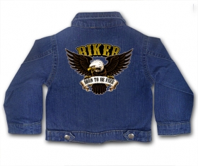 Chaqueta tejana BORN TO BE FREE