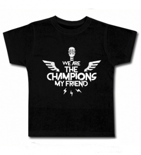 Camiseta WE ARE THE CHAMPIONS