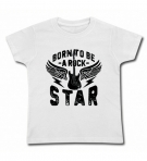 Camiseta BORN TO BE A ROCK STAR