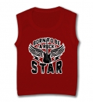 Camiseta sin mangas BORN TO BE A ROCK STAR