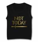 Camiseta sin mangas NOT TODAY
