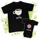 Camiseta PAPA BETTER + Body TOGETHER