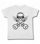 Camiseta CALAVERA GUITARRAS ROCK