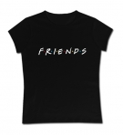 Camiseta mamá FRIENDS BLACK