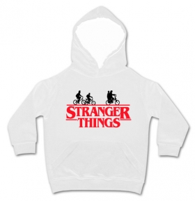 Sudadera STRANGER THINGS FRIENDS BICI