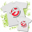 Camiseta PAPA Ghostbusters Gym + Camiseta  Ghostbusters in training