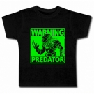 Camiseta WARNING PREDATOR
