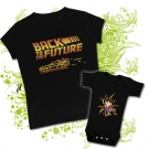 Camiseta MAMA BACK TO THE FUTURE + Body McFly (coche)